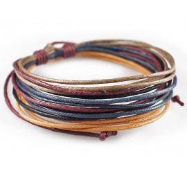 Веревочный кожаный браслет Каир