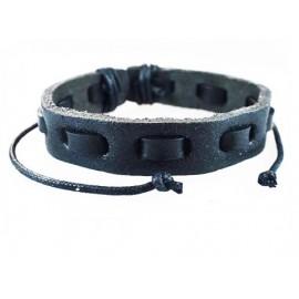 Кожаный плетеный браслет Шерлок