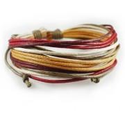 Веревочный кожаный браслет Мадрид