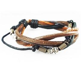 Кожаный браслет Дикое Племя