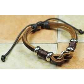 Кожаный браслет Ундина