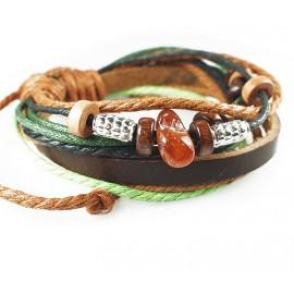 Оригинальный кожаный браслет Фрейя