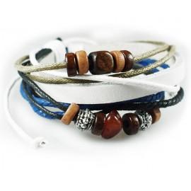 Оригинальный кожаный браслет Герда