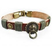 Кожаный оригинальный премиум браслет Врата Счастья
