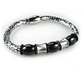 Женский премиум браслет металлический Сияние