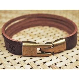 Кожаный оригинальный премиум браслет Нимфа