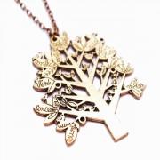 Кулон из металла Древо Жизни - украшение на шею