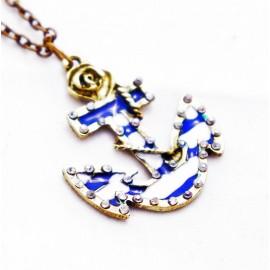 Кулон из металла Якорь Корабля - украшение на шею