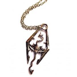 Кулон из металла Скайрим Skyrim - украшение на шею