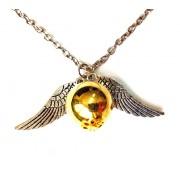 Кулон из металла Гарри Поттер Золотой Снитч - украшение на шею